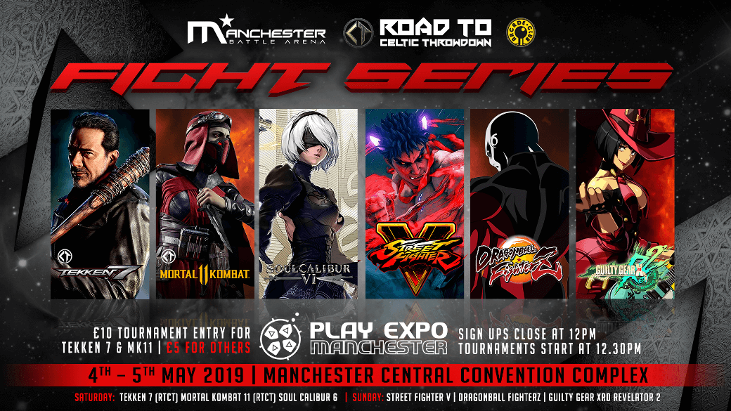 Manchester Battle Arena Are Bringing The Brawl To Play Expo Manchester Play Expo Manchester