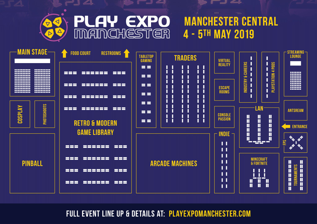 RE PlayExpo Manchester2019 Floorplan 1024